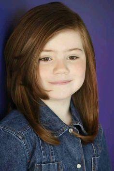 Medium Length Little Girl Hairstyles Bing Images Kye Hair