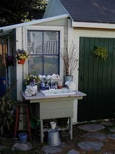 Outdoor Garden Sinks Gardening Pinterest Gardens Garden
