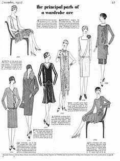 1920s flapper dress handkerchief hem and low drop waist