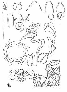 1000+ images about Leather Cutting and Carving Patterns on