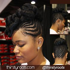 75 Super Hot Black Braided Hairstyles To Wear Updo African