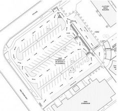 Parking Lot Plan for Denver Montclair International School