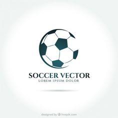 Football badge logo template design,soccer team,vector