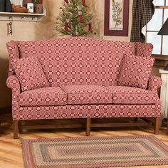 colonial wingback sofas best home furnishings power reclining sofa country plaid and loveseat | features specifications ...