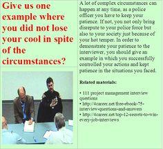 Police Officer Resume Sample Objective