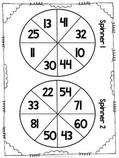 These worksheets provide students with a premade layout