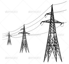 RURAL ELECTRIFICATION: This familiar power line design was