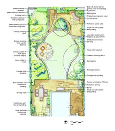 Garden Design For A North Facing Victorian Semi Detached House In