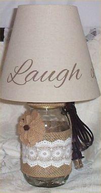 Ribbon Lamp Shades on Pinterest | Diy Lamps, Ruffle Lamp ...