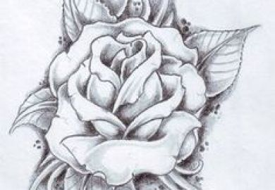Black And White Rose Tattoos Pinterest Tattoodonkey