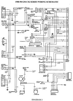 wiring diagram for 1998 chevy silverado  Google Search