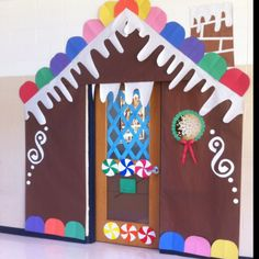 Miss Sarah And Miss Megan's Handmade Gingerbread House Classroom