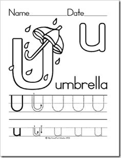 Free Printable letter X tracing worksheets for preschool