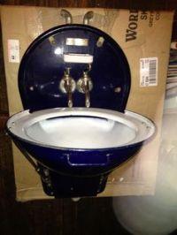 Vintage Adams Westlake Folding Train Sink | eBay - tiny ...