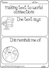 Reading Strategies: Connecting & Visualizing | Literacy ...