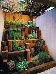 28 Best Images About Small Garden Ideas On Pinterest Gardens