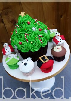 1000 Ideas About Christmas Tree Cupcakes On Pinterest
