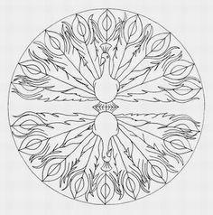 Halloween Mandala Coloring Pages Jack O Lantern Mandala