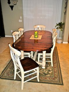 how to refinish wood chairs steel visitor chair 1000+ images about refinishing dining table on pinterest | room tables, farm tables and ...