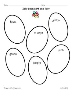 5 Jelly Bean Math Activities for Preschool and
