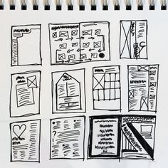 1000+ images about Thumbnail Sketches for Layout on
