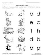 1000+ images about Beginning sound worksheets on Pinterest