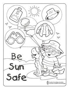 Burt's Water Safety Word Find #swimming #kidactivities