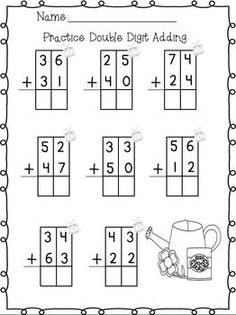 1000+ images about Two Digit Addition on Pinterest