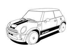 Cars, Cartoon and Cooper cars on Pinterest