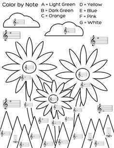 Fun and Learn Music » Music Worksheets