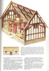 medieval homes houses plans building castle tudor architecture ancient early buildings ages middle cottage floor party timber historical town fantasy