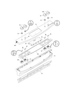 MOWER DECK Diagram & Parts List for Model 917289720