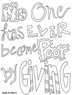 Give To Poor Widows Coloring Page Coloring Pages