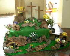 I Love This Easter Garden Concept For Holy Saturday The Easter