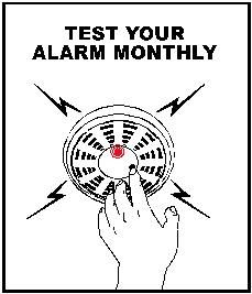 Conventional fire alarm for smoke, heat, gas leakage