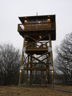 Another cabin that reminds me of a fire tower