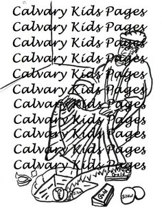 1000+ images about Calvary Kids Coloring Pages on