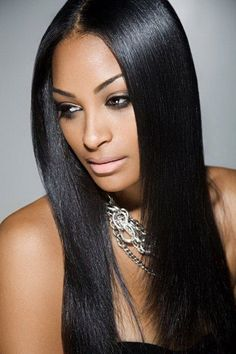 Straight Hair Flat Iron Sleek Smooth Hairstyles Hairstylists