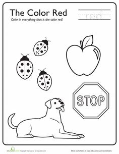 1000+ images about Color Worksheets on Pinterest