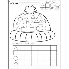 My Kindergarten Shapes. Teaching flat and solid shapes in