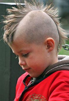 Little Boys Mohawk Hairstyles My Boys Pinterest Boys Mohawk