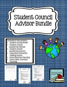 Student Council AdvisorFREE Binder Printable  student council  Pinterest  Binder and Students
