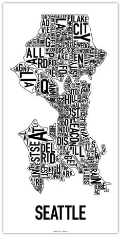 Seattle, Backgrounds and Words on Pinterest