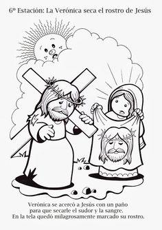 Via Crucis tradicional Todos los dibujos están realizados