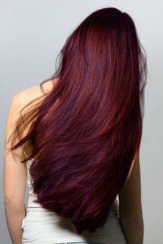Dark Cherry Hair Color