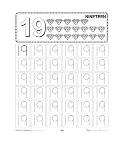 1000+ images about Homeschooling: Number Tracing on