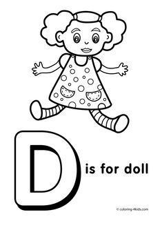 1000+ images about Alphabet coloring pages for kids