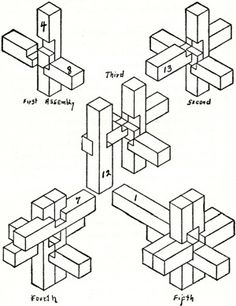 1000+ images about Wooden Interlock Puzzles on Pinterest
