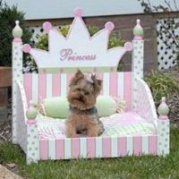 1000+ ideas about Princess Dog Bed on Pinterest   Dog Beds ...