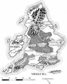 Flanaess, World of Greyhawk, originally made by Gary Gygax